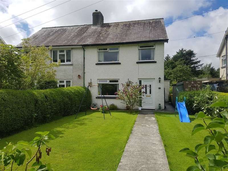 3 Bedrooms Semi Detached House for sale in Maesmagwr, Abermagwr, Aberystwyth