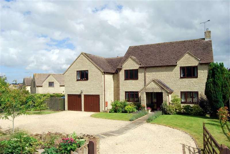5 Bedrooms Property for sale in Hazelea, The Street, Lea, Nr Malmesbury, Wiltshire