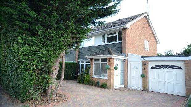 3 Bedrooms Semi Detached House for sale in Bean Oak Road, Wokingham, Berkshire