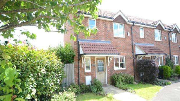 2 Bedrooms End Of Terrace House for sale in Scobell Close, Shinfield, Reading