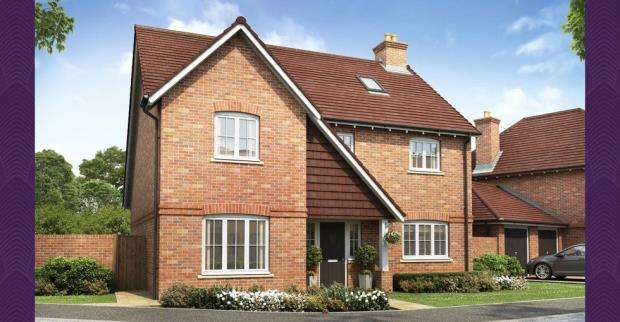 4 Bedrooms Detached House for sale in Tudgey Gardens, Crookham Village, Fleet