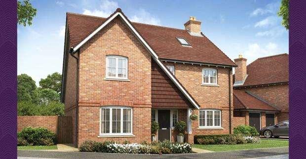 4 Bedrooms Detached House for sale in 2 Tudgey Gardens, Crookham Village, Fleet, GU51 5SB