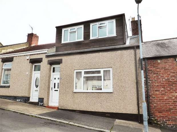 3 Bedrooms Terraced Bungalow for sale in Broadsheath Terrace, Sunderland, Tyne and Wear