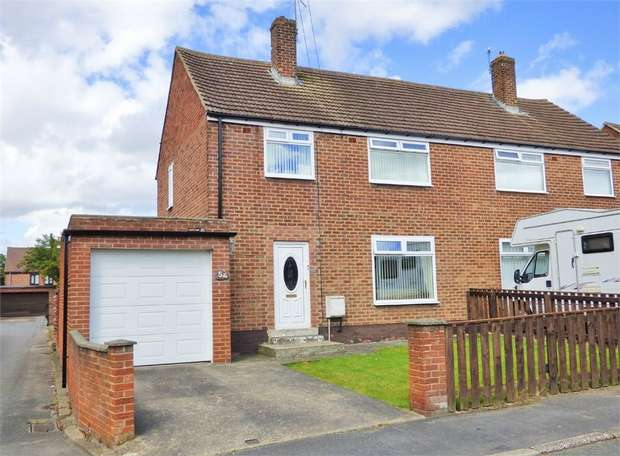 3 Bedrooms Semi Detached House for sale in Bede Terrace, Bowburn, Durham