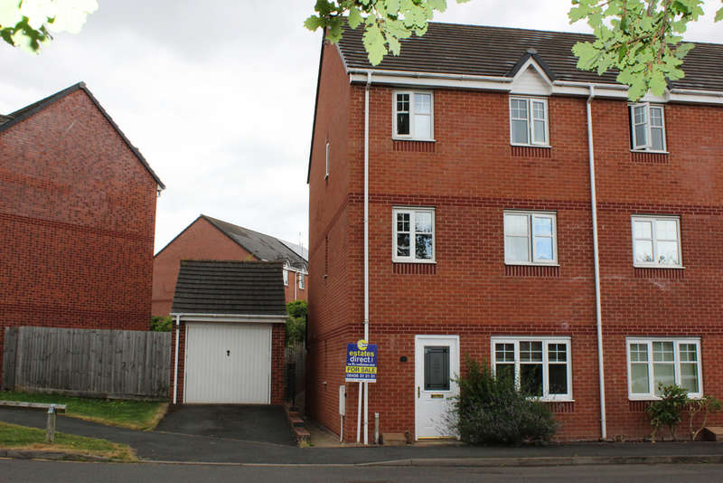 3 Bedrooms Town House for sale in Darwin Avenue, Worcester, Worcester, WR5