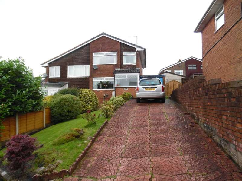 3 Bedrooms Semi Detached House for sale in Arnside Close, Shaw