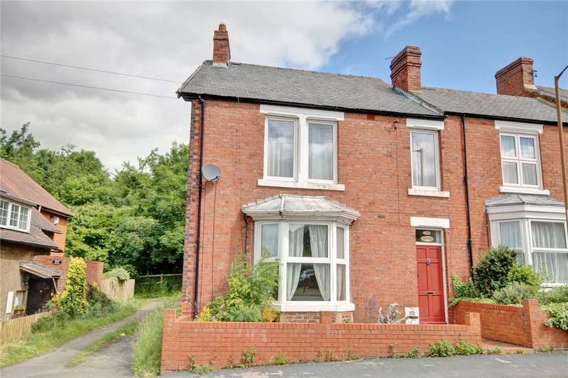 3 Bedrooms End Of Terrace House for sale in Lowes Barn Bank, Nevilles Cross, Durham, DH1