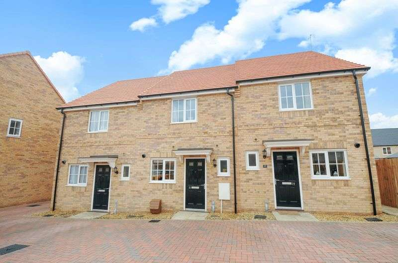 2 Bedrooms Terraced House for sale in Parker Crescent, Sawtry