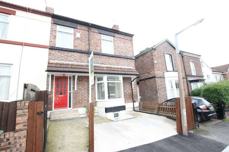4 Bedrooms Semi Detached House for sale in Chesnut Grove, Birkenhead, Wirral