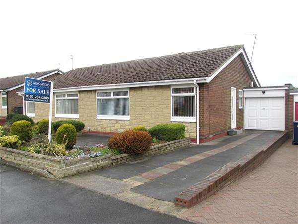 2 Bedrooms Bungalow for sale in Gilmore Close, Newcastle upon Tyne