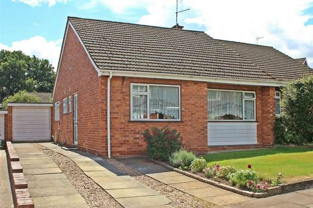2 Bedrooms Semi Detached Bungalow for sale in Finnemore Close, Styvechale Grange, Coventry