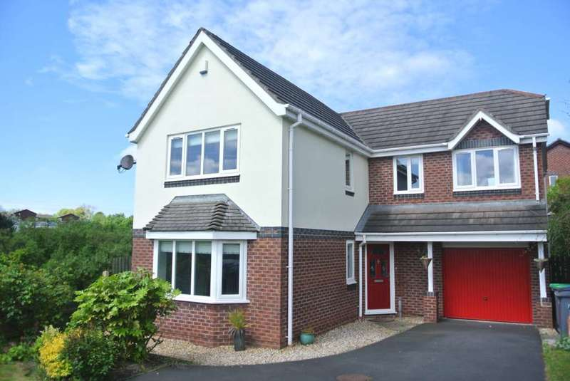 4 Bedrooms Detached House for sale in Plovers Way, Blackpool, FY3 8FE