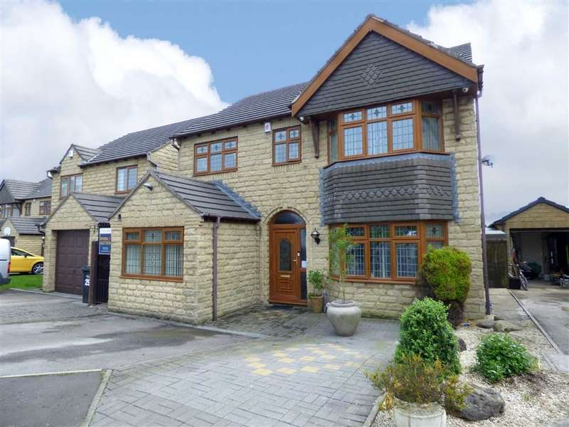 5 Bedrooms Property for sale in Whitley Drive, Holmfield, Halifax, West Yorkshire, HX2