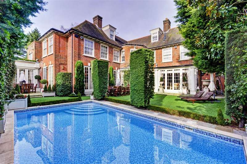 6 Bedrooms Property for sale in Upper Terrace, London, NW3