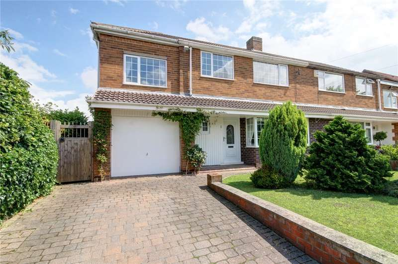 4 Bedrooms Semi Detached House for sale in Blaidwood Drive, Farewell Hall, Durham, DH1
