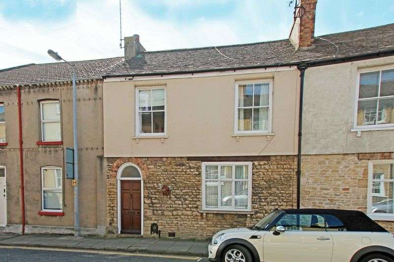 2 Bedrooms Terraced House for sale in St. Leonards Street, Stamford