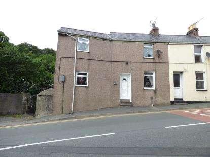 2 Bedrooms End Of Terrace House for sale in Caernarvon Road, Pwllheli, Gwynedd, LL53