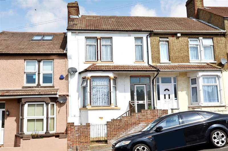3 Bedrooms Terraced House for sale in Longfellow Road, Upper Gillingham, Kent
