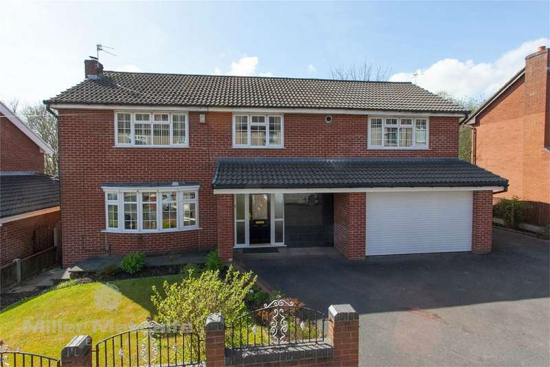 5 Bedrooms Detached House for sale in Oakenbottom Road, Tonge Fold, Bolton, Lancashire