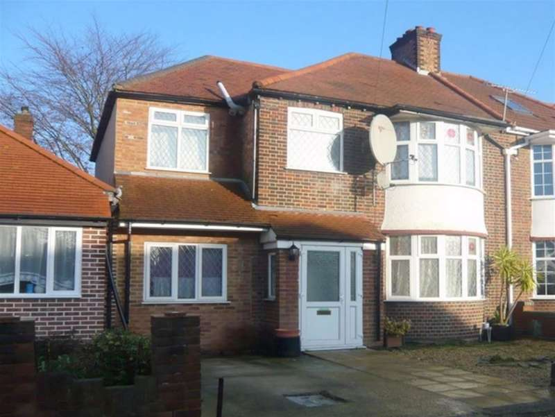 4 Bedrooms Semi Detached House for sale in Roxborough Avenue, Isleworth, TW7