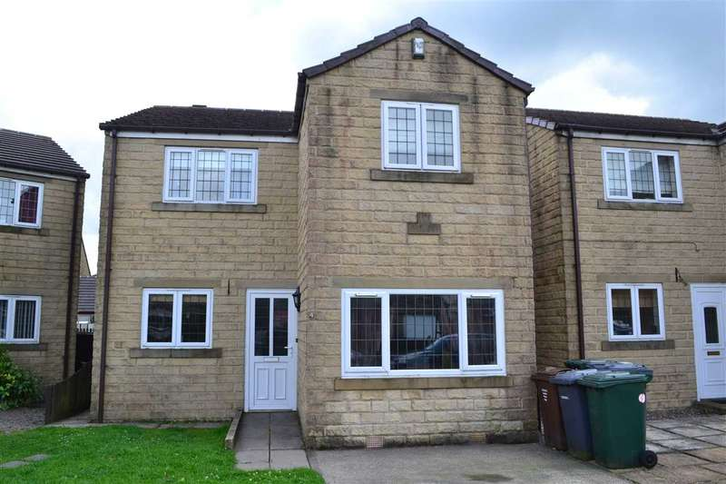 4 Bedrooms Detached House for sale in Mosstree Close, Queensbury, Bradford