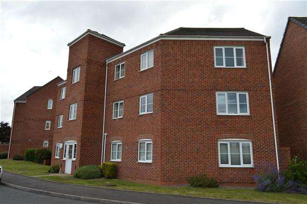 2 Bedrooms Apartment Flat for sale in Windrush Close, Walsall, Pelsall