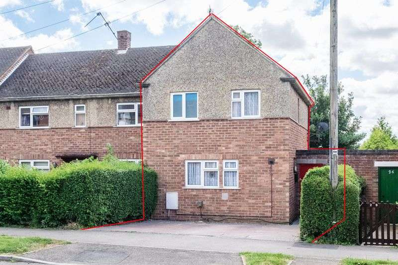 3 Bedrooms Terraced House for sale in Grombold Avenue, Raunds