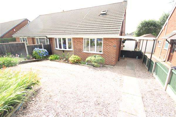 3 Bedrooms Bungalow for sale in Heysham Close, Weston Coyney, Stoke-on-Trent