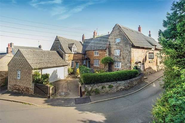 5 Bedrooms Semi Detached House for sale in Arnhill Road, Gretton, Corby, Northamptonshire