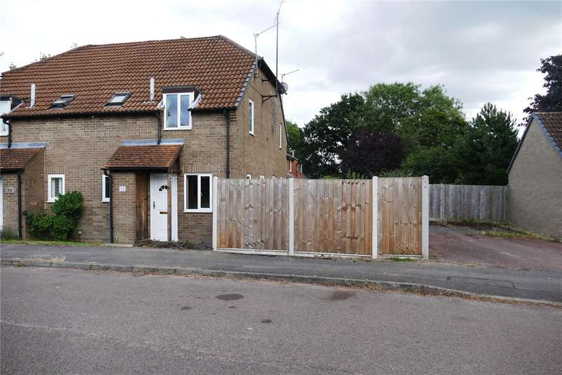 1 Bedroom End Of Terrace House for sale in Cannock Way, Lower Earley, Reading, Berkshire, RG6
