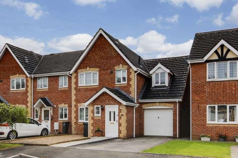 3 Bedrooms Terraced House for sale in Llewellyn Walk, Newport