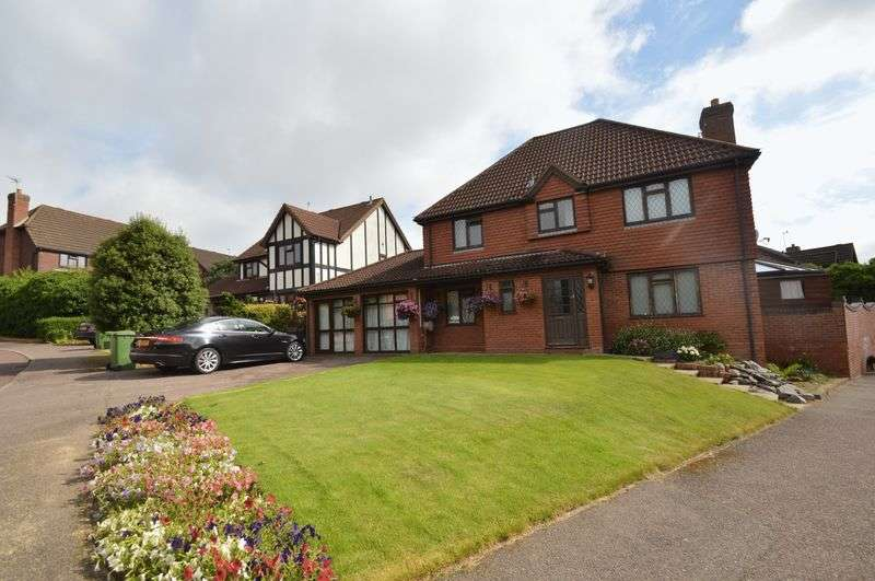 4 Bedrooms Detached House for sale in Shepherd Way, Norwich