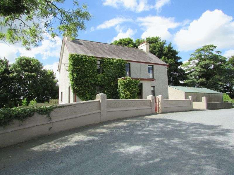 4 Bedrooms Detached House for sale in Detached House, Farmyard, Outbuildings and c52 Acres of Land