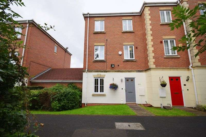 4 Bedrooms Semi Detached House for sale in Leek New Road, Baddeley Green