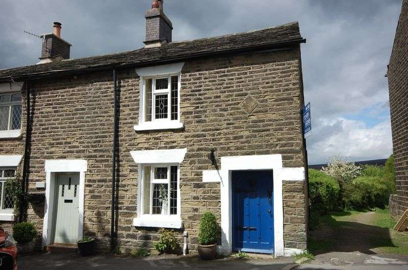 2 Bedrooms Terraced House for sale in Padfield Main Road, Glossop