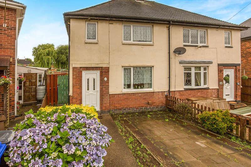 3 Bedrooms Semi Detached House for sale in Devon Close, Burton-On-Trent, DE15