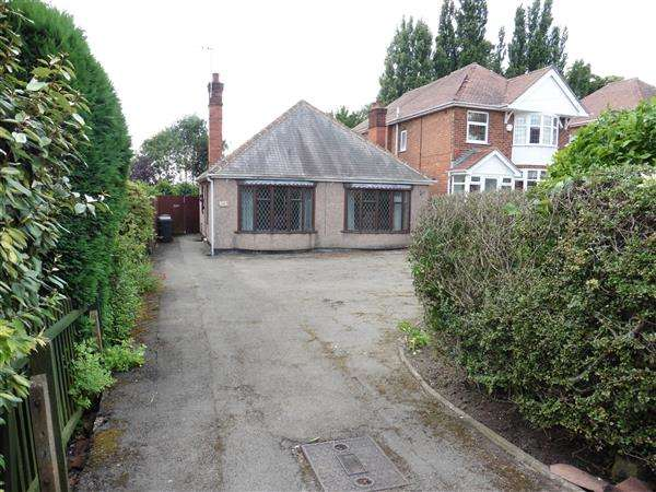 2 Bedrooms Detached Bungalow for sale in Nottingham Road, Eastwood, Nottingham