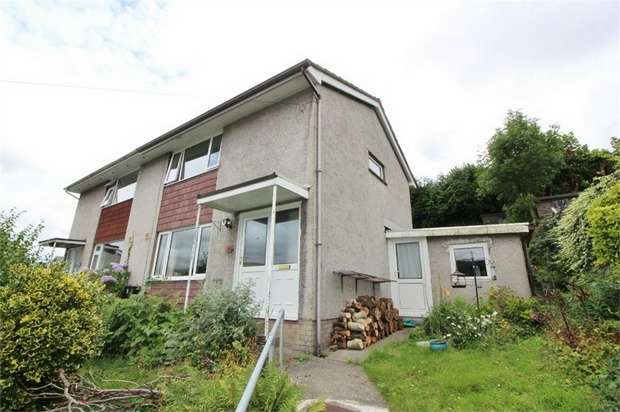 2 Bedrooms Semi Detached House for sale in Dan-Y-Bryn, Gilwern, ABERGAVENNY, Monmouthshire