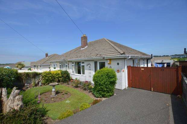 2 Bedrooms Semi Detached Bungalow for sale in Holman Avenue, Camborne, Cornwall