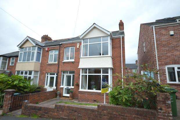 3 Bedrooms End Of Terrace House for sale in Second Avenue, Heavitree, Exeter, Devon