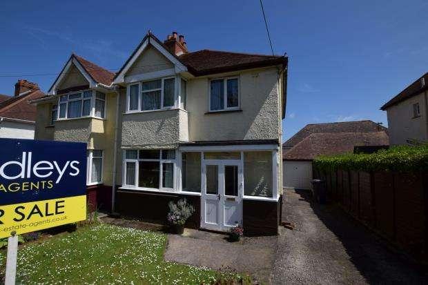 3 Bedrooms Semi Detached House for sale in Preston Down Avenue, Preston, Paignton, Devon