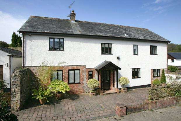 4 Bedrooms Detached House for sale in Bowd, Sidmouth, Devon