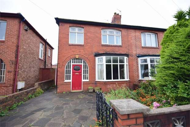 3 Bedrooms Semi Detached House for sale in Church Road, St Annes, LYTHAM ST ANNES, Lancashire