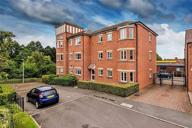 2 Bedrooms Flat for sale in 25 Chancery Court, Newport, Shropshire