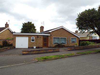 2 Bedrooms Bungalow for sale in Maytree Drive, Kirby Muxloe, Leicester, Leicestershire
