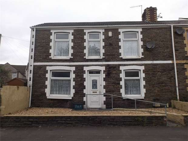 3 Bedrooms End Of Terrace House for sale in Eastland Road, Neath, West Glamorgan