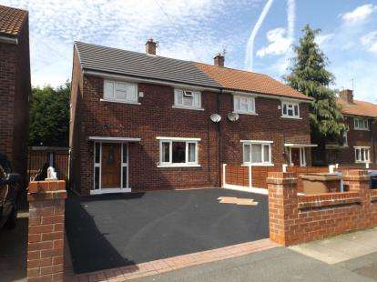 3 Bedrooms Semi Detached House for sale in Hiley Road, Eccles, Manchester, Greater Manchester