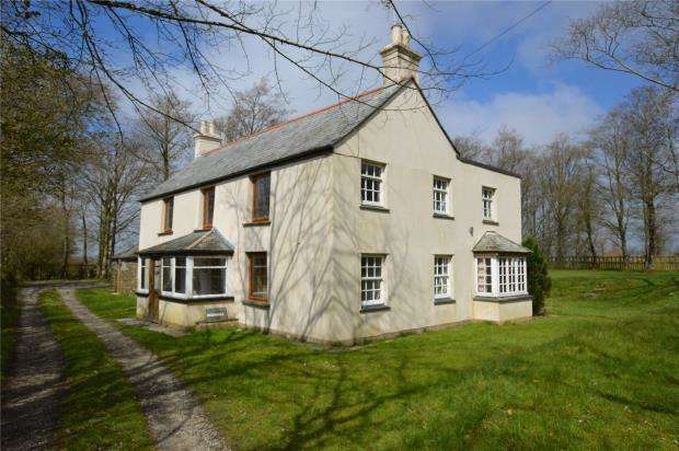 4 Bedrooms Detached House for sale in Widegates, Looe, Cornwall