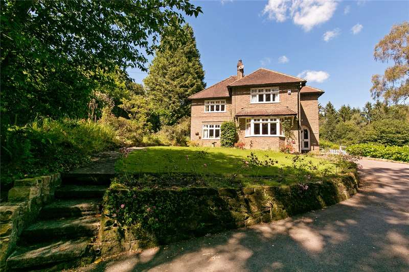 4 Bedrooms Detached House for sale in High Cross, Rotherfield, Crowborough, East Sussex, TN6