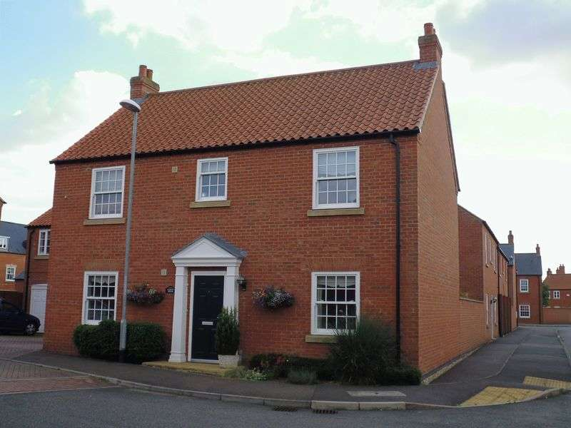 4 Bedrooms Detached House for sale in Honeysuckle Lane, Wragby